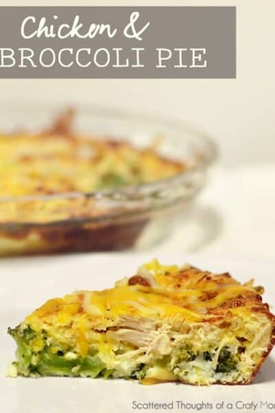 Chicken and Broccoli Pie