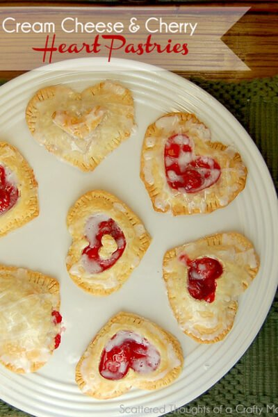 Flashback Friday: Cherry and Cream Cheese Hearts Recipe for Valentine's Day