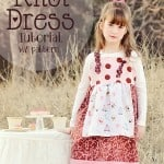 Simple Knot Dress Tutorial and Pattern (Sizes 2 to 6)