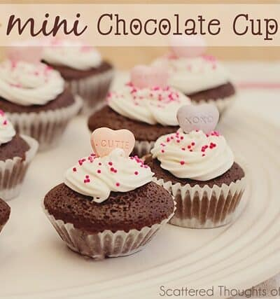 Baking with Kids: Mini Chocolate Cupcakes