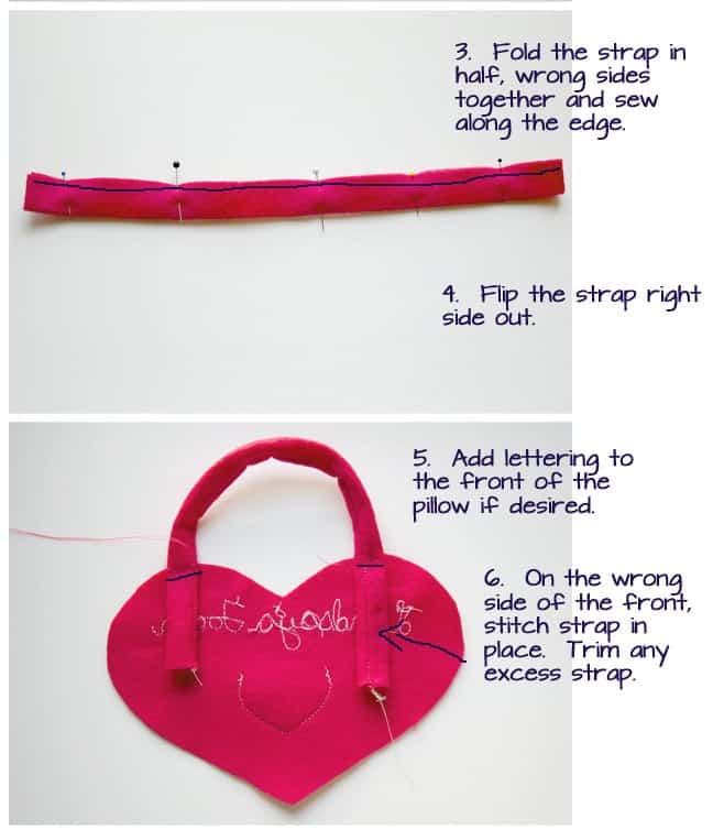 Easy Tooth Fairy Pillow Tutorial. (How to make a Tooth Fairy Pillow)