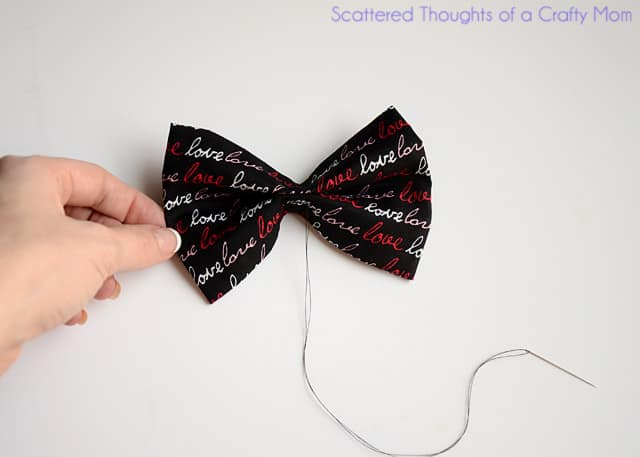 BoyS Bow Tie Tutorial  Scattered Thoughts Of A Crafty Mom By