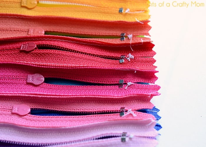 what to do with leftover zippers
