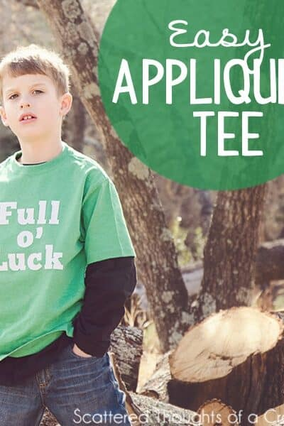DIY St. Patrick's Day Tee