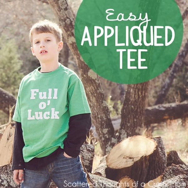 a5be7098e DIY St. Patrick's Day Tee - Scattered Thoughts of a Crafty Mom by ...