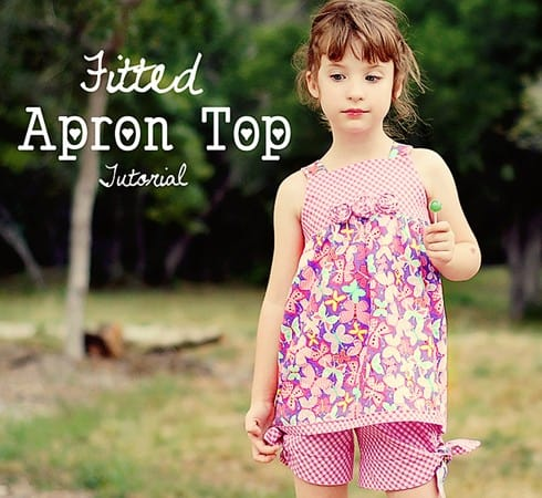 Pattern Update! Apron Top Pattern is now in sizes 2 to 6