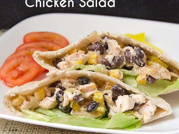Black Bean and Corn Chicken Salad