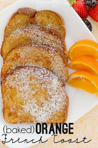 Baked Orange French Toast Recipe