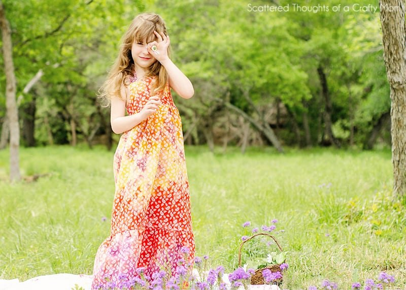 Free Maxi Dress Sewing Pattern