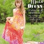The Boho-Maxi Dress Tutorial and Pattern