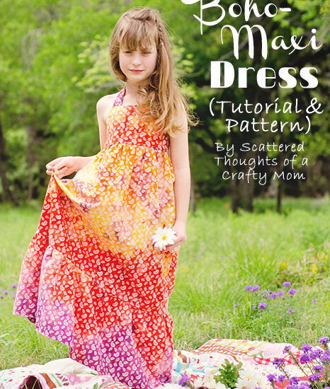 The Boho-Maxi Dress Tutorial and Pattern