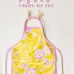 Easy Child's Apron Pattern and Tutorial