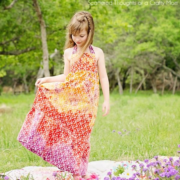 free maxi dress