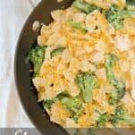 chicken and broccoli skillet