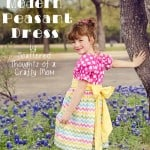 Pattern Re-Mix: Peasant Dress Style