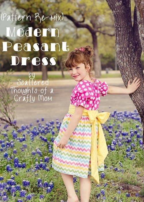 Modern Peasant Dress