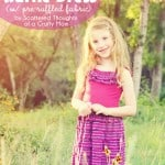 DIY Knit Sundress with Pre-Ruffled Fabric