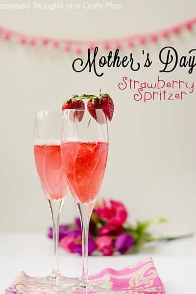 Strawberry Spritzer Recipe for Mother's Day