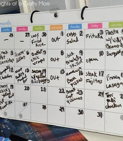 How Do You Meal Plan? Menu Plan Monday: 5/13/13