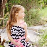 Make a Sweet Summer Sundress in any size w/ this Ruffled Sundress Tutorial!