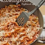 Skillet Lasagna {Lightened Up}