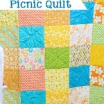 Fat Quarter Picnic Quilt