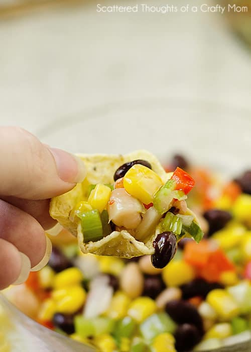 Texas Caviar Recipe. Absolute best side dish for potlucks and New Year's!
