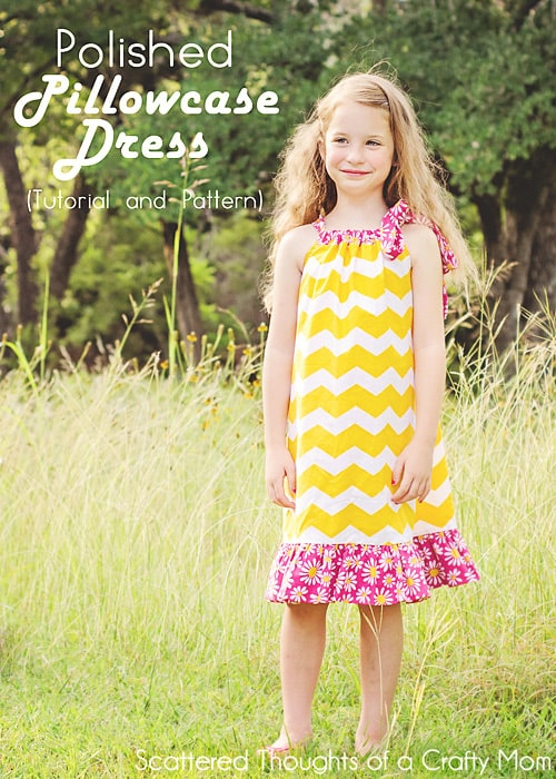 Learn how to make a Pillowcase Dress (free Pillowcase Dress pattern & tutorial)