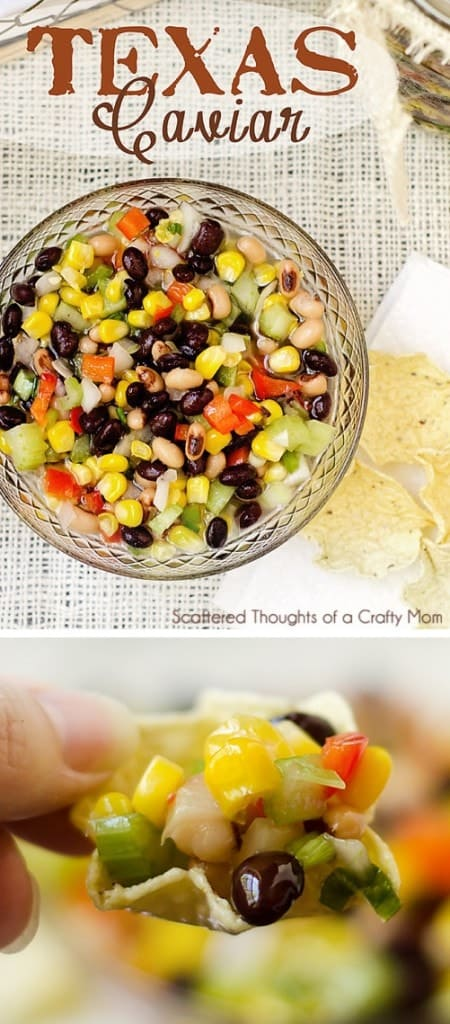 Texas Caviar Recipe (Black bean and sweet corn salsa) Absolute best side dish for potlucks!
