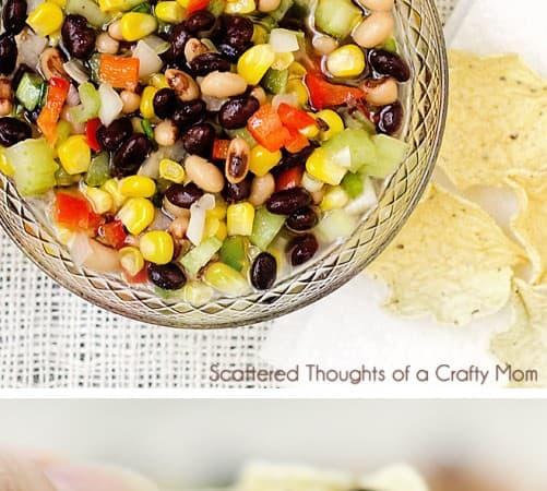 Black Bean and Corn Salsa (aka Texas Caviar)