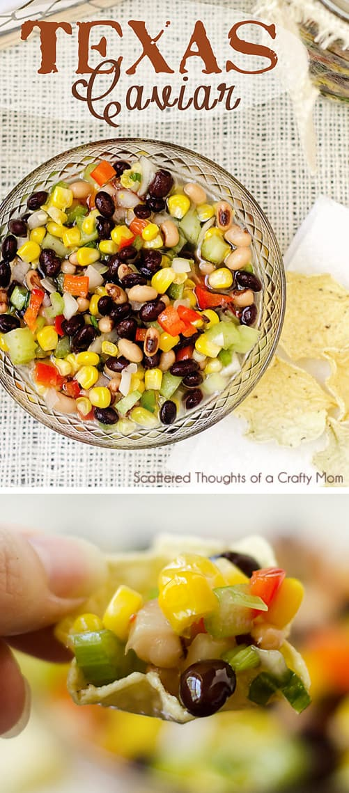 Texas Caviar Dip (Black Bean and Corn Salsa)