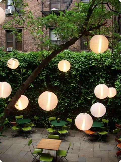 17 Outdoor Lighting Ideas For The Garden Scattered