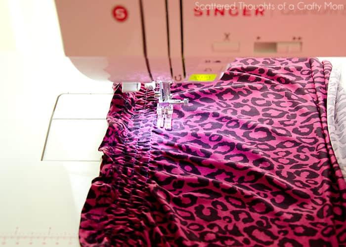 Sew a shirred maxi dress