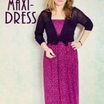Women's Shirred Maxi Dress Tutorial
