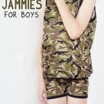 Summer Pajamas for Boys!