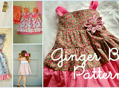 Pattern Giveaway from Ginger Baby Patterns