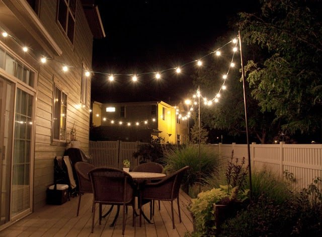 17 Outdoor Lighting Ideas For The Garden Tered
