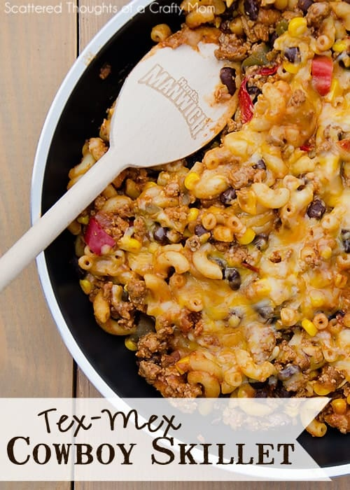 Quick and Easy Dinner Solutions: Tex-Mex Cowboy Skillet