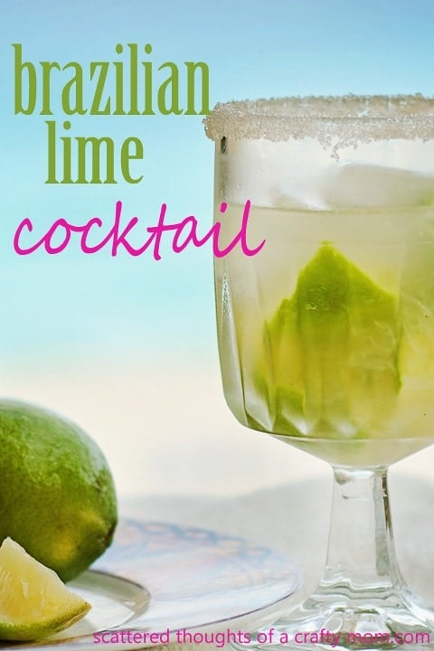 Tropical Drink of the day: Brazilian Lime Cocktail (or Caipirosca)
