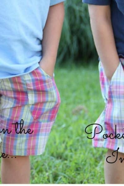 Guest post: Adding Pockets to Shorts from Nap-Time Creations