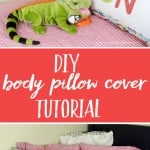 DIY Body Pillow Tutorial from Leigh Laurel Studios