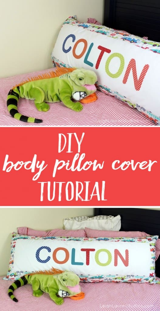 DIY Body Pillow Cover Tutorial (How to make a pillowcase for a body pillow)