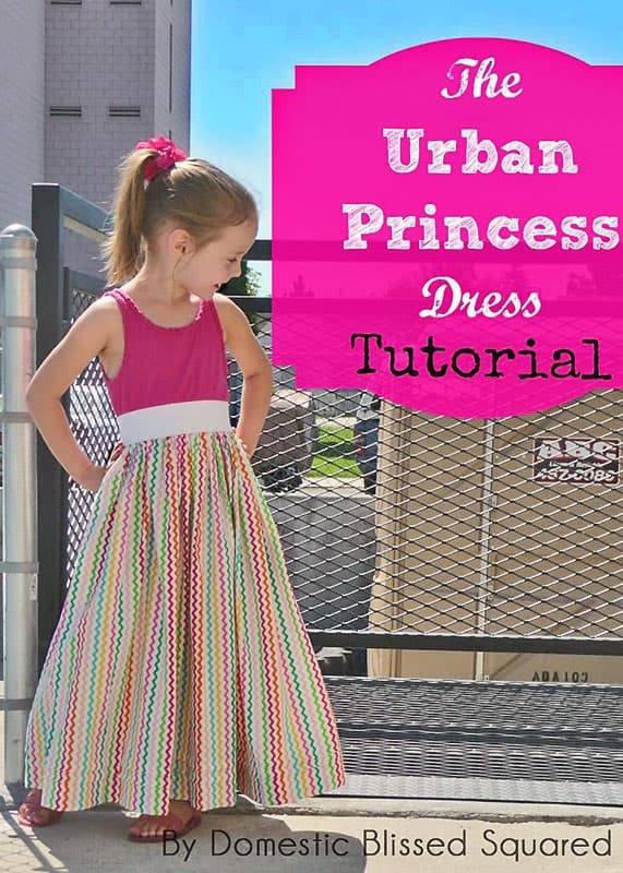 DIY Tank Dress Tutorial: The Urban Princess Dress Tutorial
