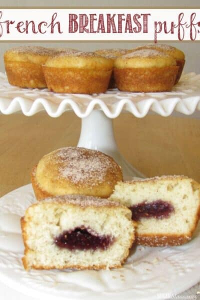Guest Post:  French Breakfast Puffs from Sugar Blossoms