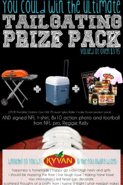 Come Enter the Ultimate Tailgating Giveaway!