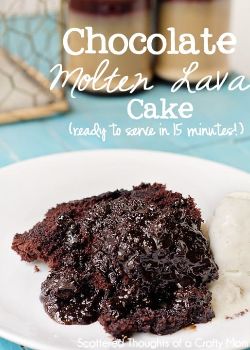 Microwave Chocolate Lava Cake Pampered Chef