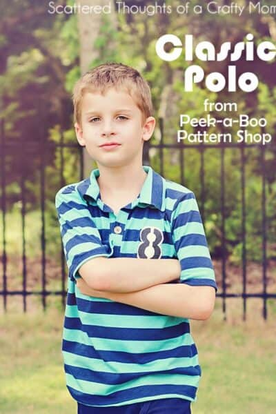 Sewing for Boys, The Classic Polo