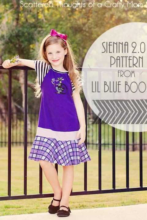 Sienna 2.0 Pattern Giveaway (from Lil Blue Boo) 3 Winners!