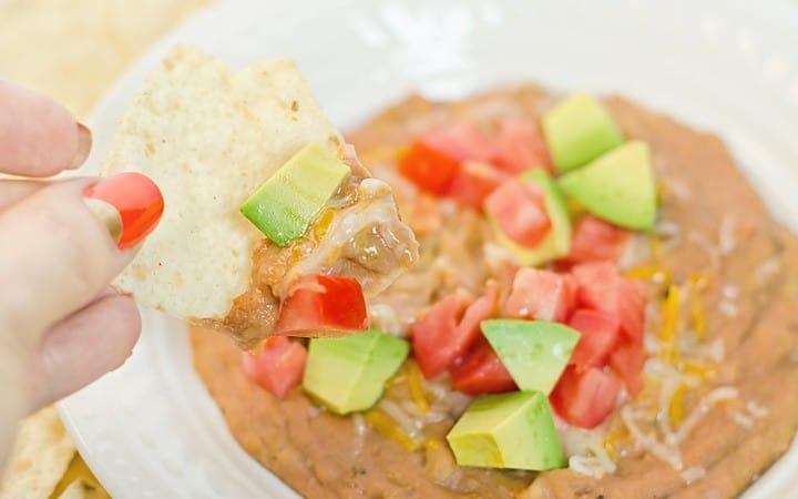Tex Mex Bean Dip Recipe
