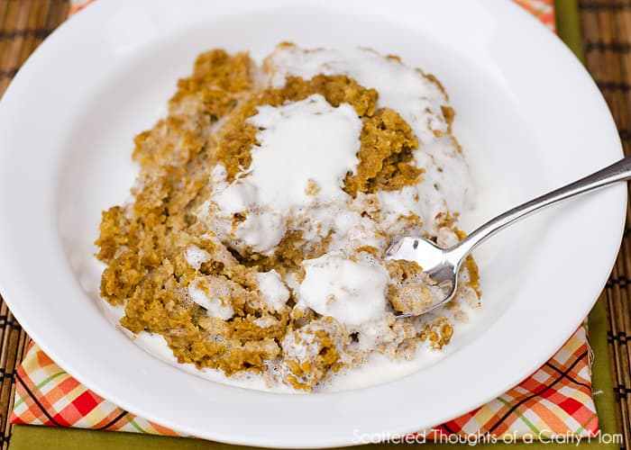 Baked Pumpkin Pie Oatmeal Recipe